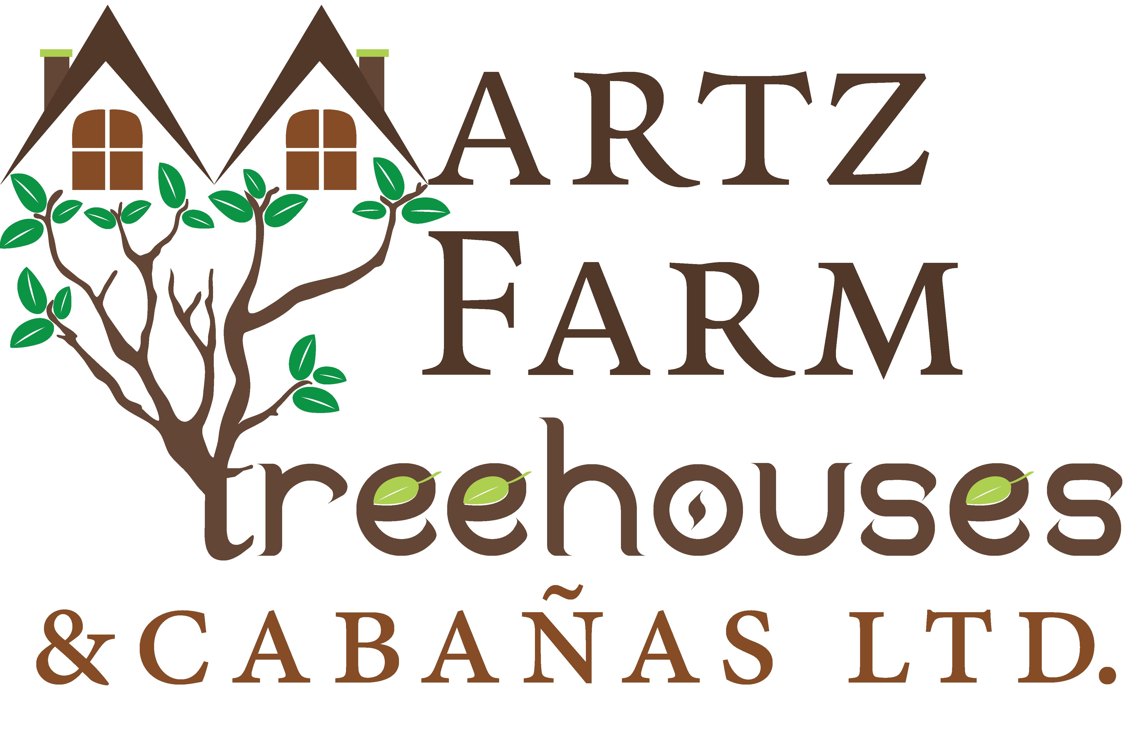 Martz Farm Treehouses & Cabanas Logo